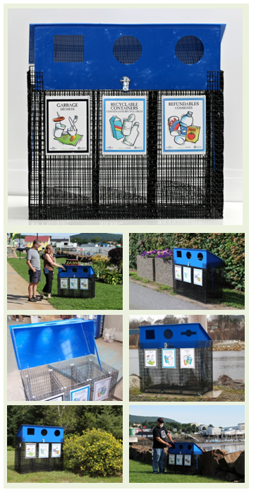 EasySorter Community Multi Stream Recycle Bin