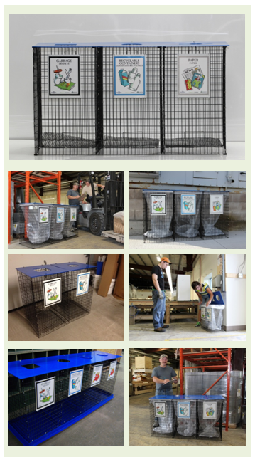 EasySorter Industrial Multi Stream Recycle Bin