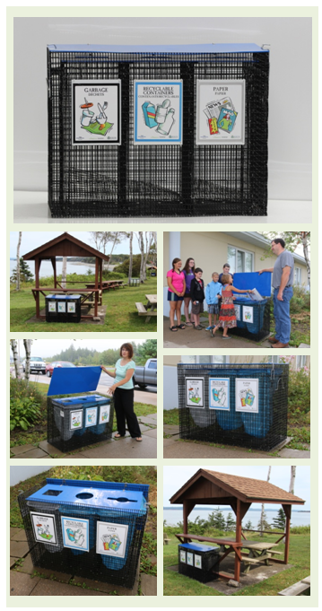 EasySorter Outdoor Multi Stream Recycle Bin